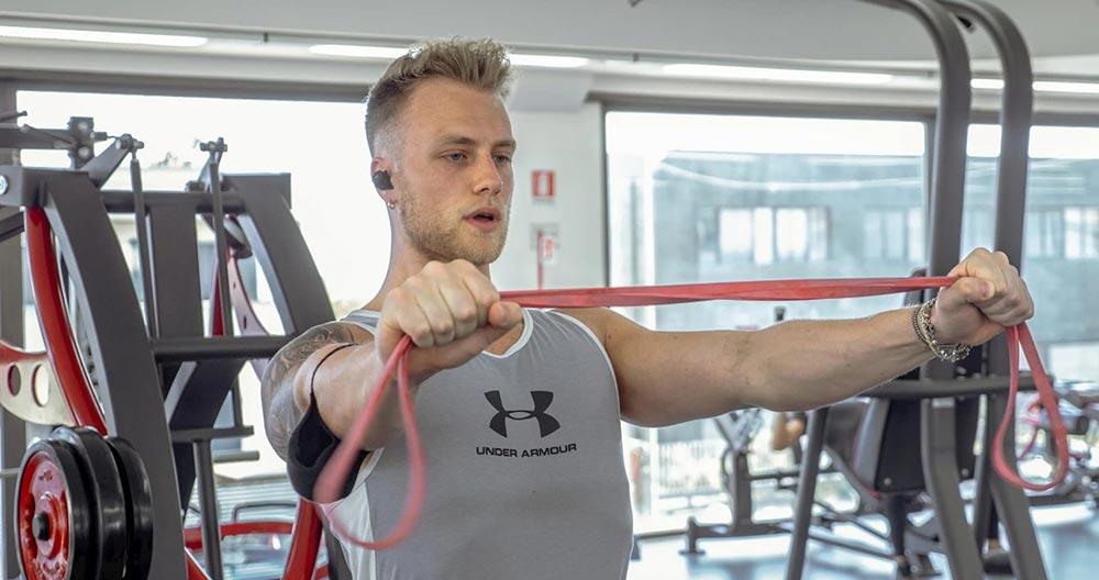 New Life Gym trazioni con elastici